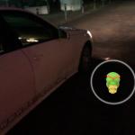 Fast drüber gefahren, Pokemon neben dem Taxi!